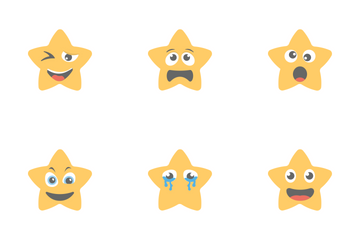 Smileys Flat Icons 11 Icon Pack