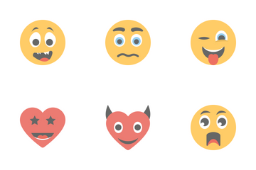 Smileys Flat Icons 2 Icon Pack
