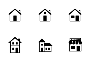 Smoothfill Building Icon Pack