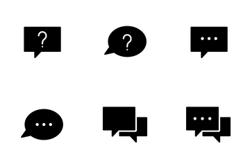 Smoothfill Chat Icon Pack