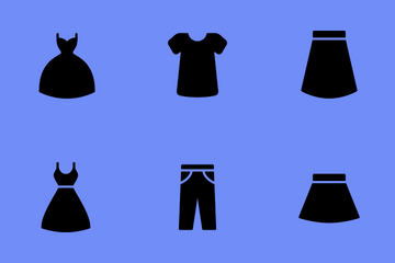Smoothfill Clothes Icon Pack