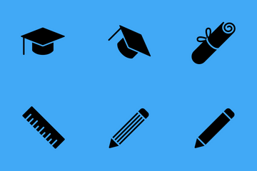 Smoothfill Education Icon Pack
