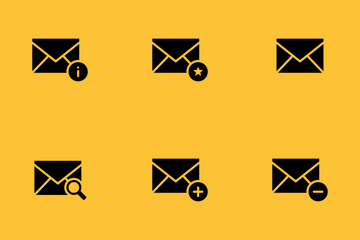 Smoothfill Email Icon Pack
