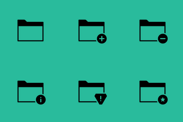 Smoothfill Folder Icon Pack