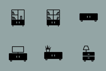 Smoothfill Furniture Icon Pack