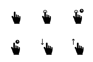 Smoothfill Gesture Icon Pack