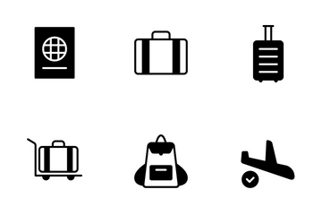 Smoothfill Travel Icon Pack