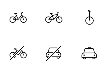 Smoothline Transportation Icon Pack
