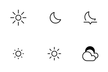 Smoothline Weather Icon Pack