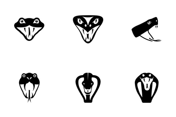 Snake Head Icon Pack