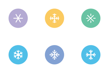 Snow Flakes Icon Pack
