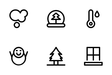 Snow Line Icon Pack