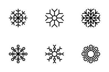 Snowflake Icon Pack