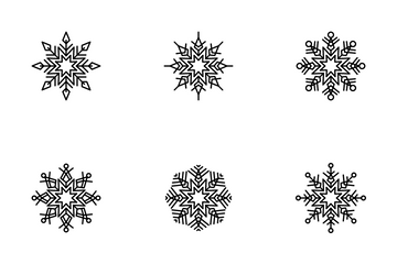 Snowflakes Icon Pack