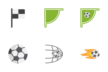 Soccer And Football Icon Pack