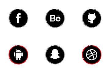 Social Art Icon Pack