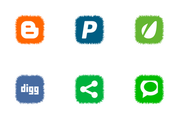 Social Icons Icon Pack