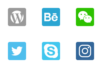 Social Media And Network Icon Pack