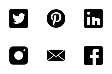 Social Media Icons Icon Pack