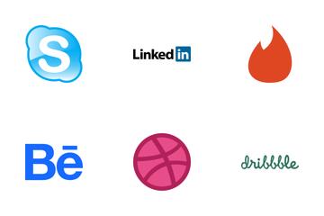 Social Media Logo Icon Pack