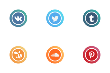 Social Media Logos Icon Pack