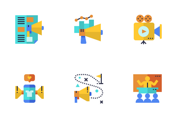 Social Media Marketing  Icon Pack