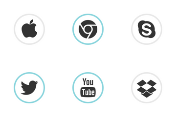 Social Media Round Icon Pack
