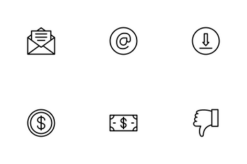 Social Messaging & Productivity Icon Pack