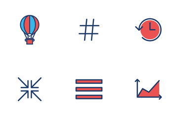 Social & Productivity Icon Pack