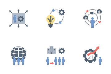 Social Technology System Icon Pack