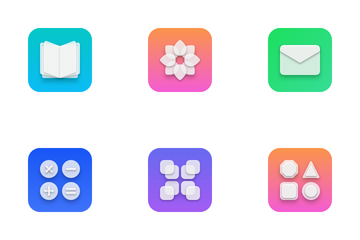 Soft Glass Icon Pack