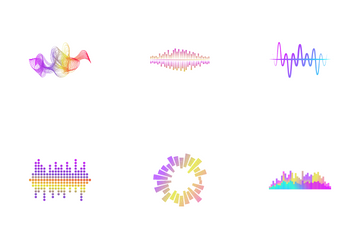 Sound Waves Icon Pack