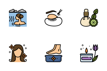 Spa And Beauty Icon Pack