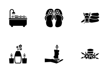 Spa And Massage Icon Pack