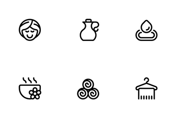 Spa & Wellness Icon Pack