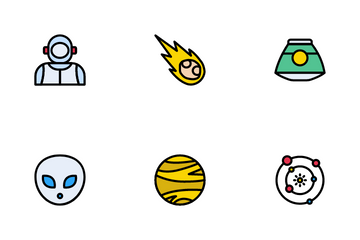 Space And Astronomy Icon Pack