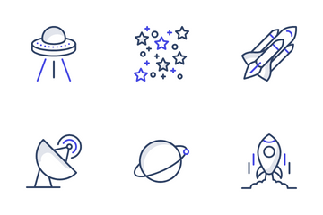 Space And Planets Icon Pack