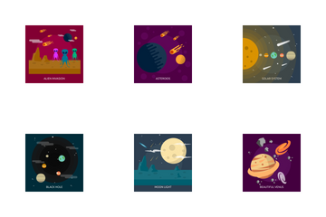 Space And Universe 2 Icon Pack