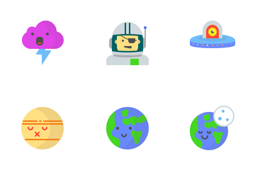 Space And Weather Icon Pack