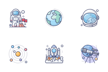 Space & Astronomy Icon Pack