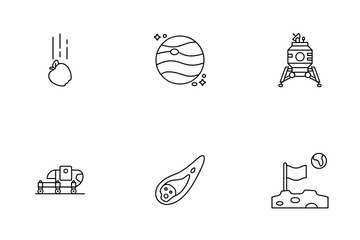 Space Exploration Icon Pack