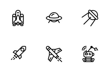 Space Explorer Icon Pack