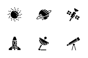 Space (Glyph) Icon Pack