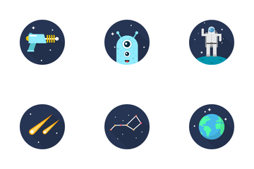Space Icon Icon Pack