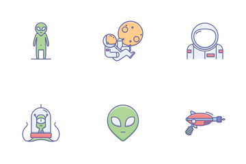 Space Icons Icon Pack