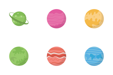 Space Planets Icon Pack