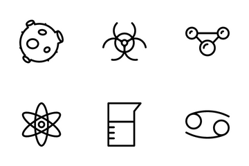 Spaces & Science Icon Pack