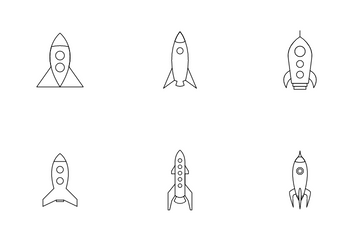 Spaceship Icon Pack