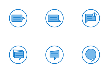 Speech Bubble Icon Pack
