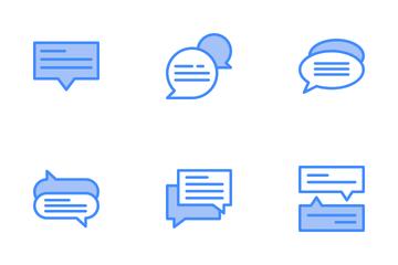 Speech Bubble Icon Pack